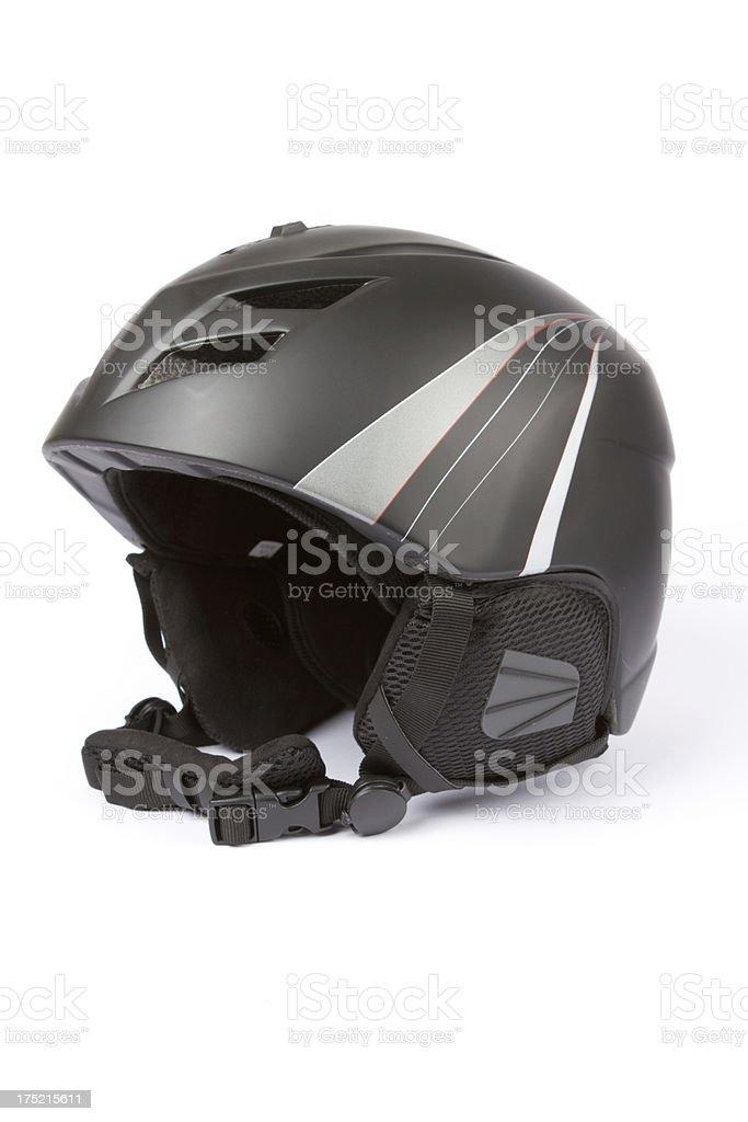 Modern Ski Helmet stock photo