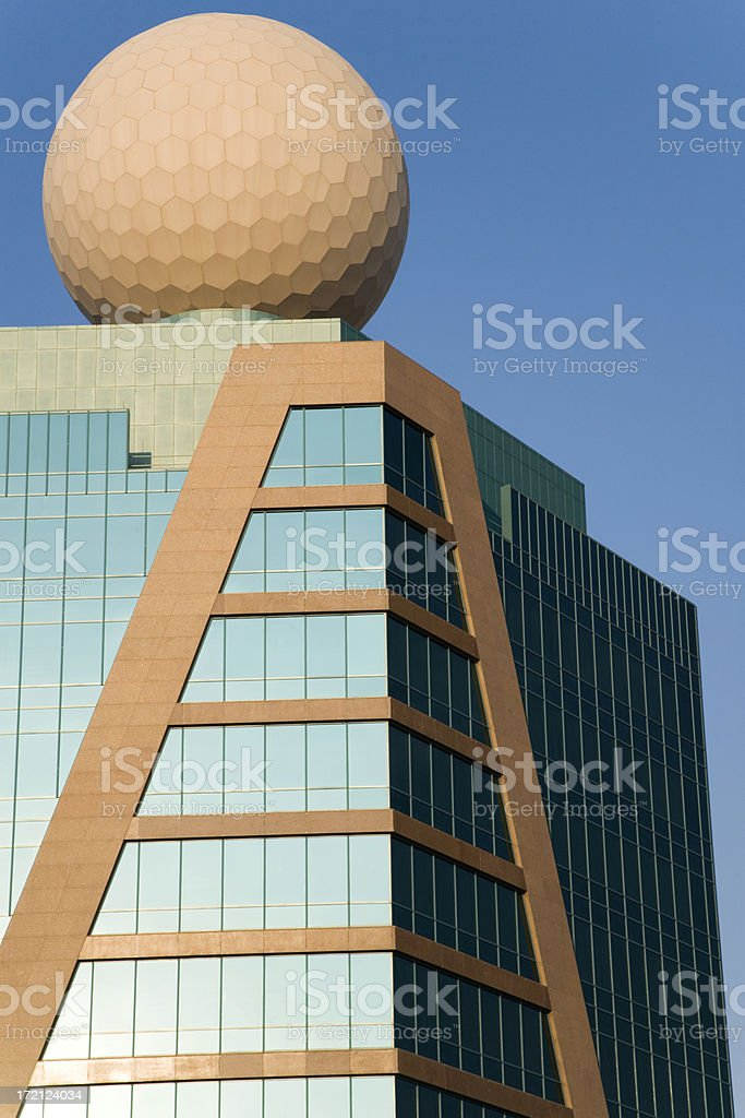 modern skyscraper metropolis series VII stock photo