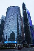CBD modern skyscrapers in Guangzhou