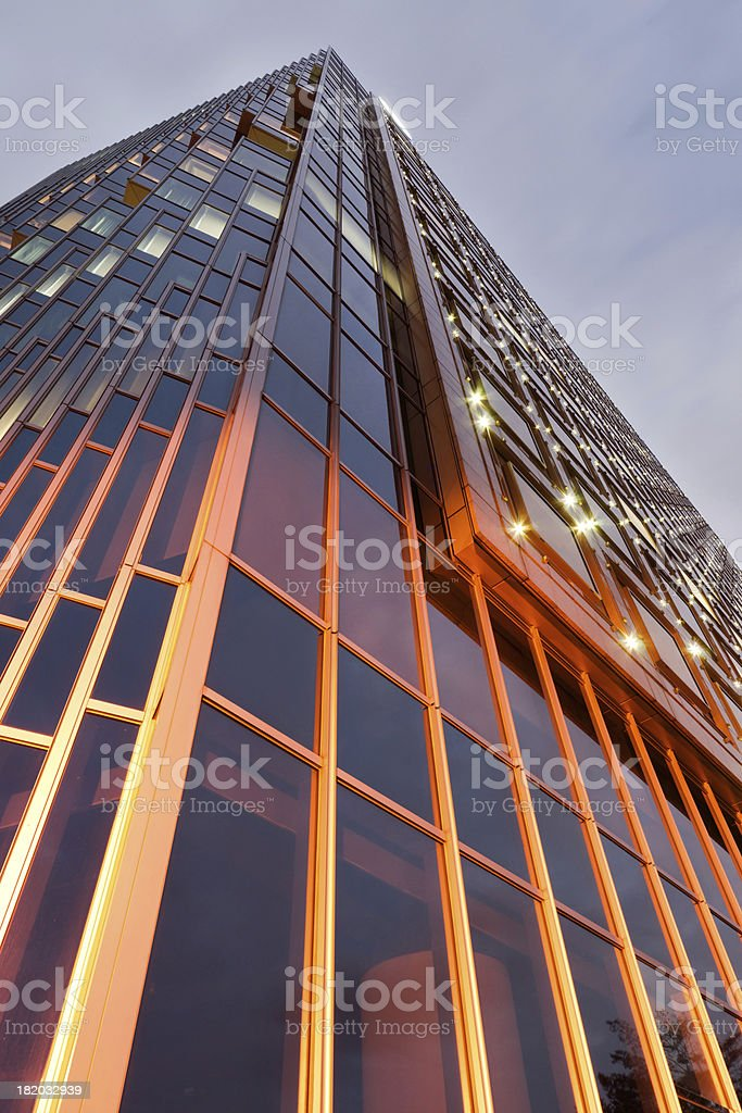 Modern skyscrapers royalty-free stock photo