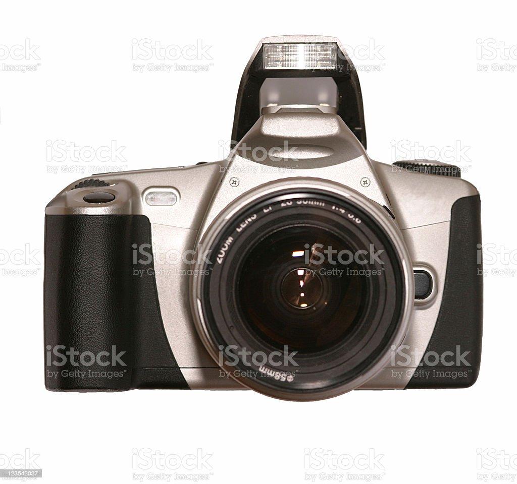Modern SLR camera royalty-free stock photo