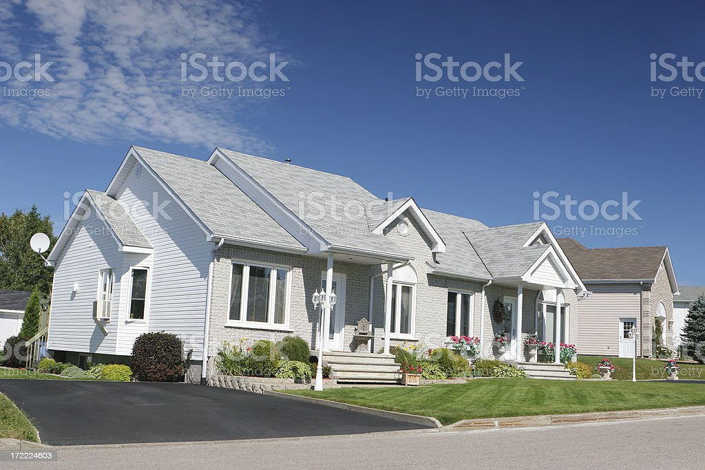 Modern Small Houses royalty-free stock photo