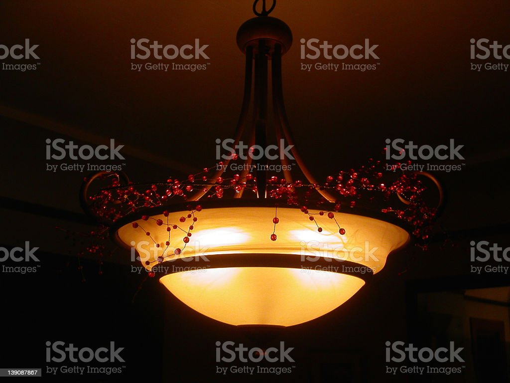 Modern Softlight Chandelier royalty-free stock photo