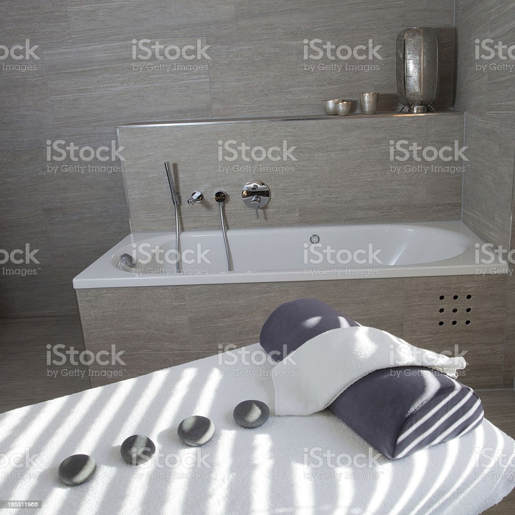 Modern Spa and Massage room royalty-free stock photo
