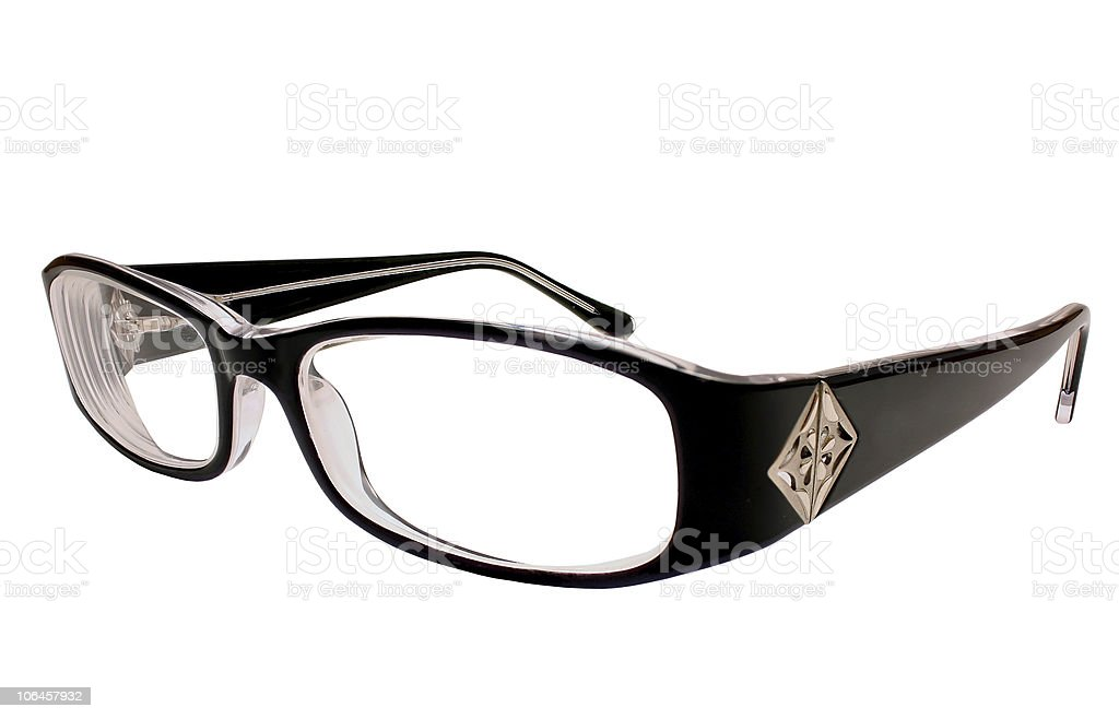 Modern spectacles stock photo