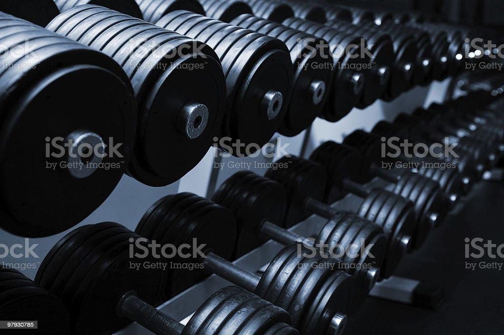 modern sports club stock photo