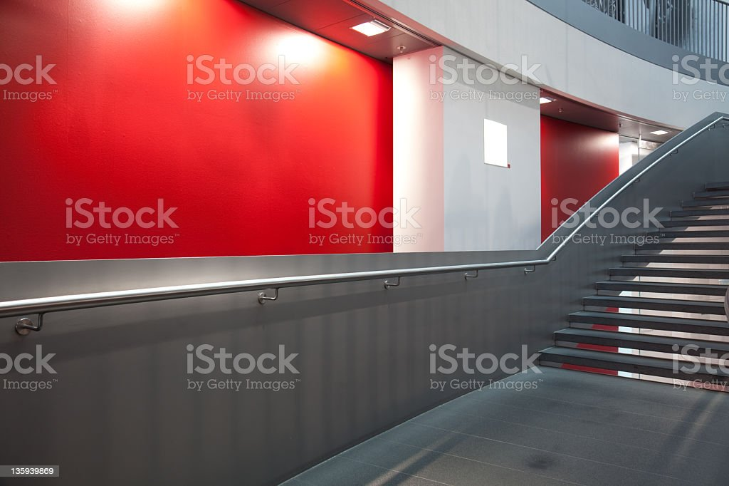 modern staircase royalty-free stock photo