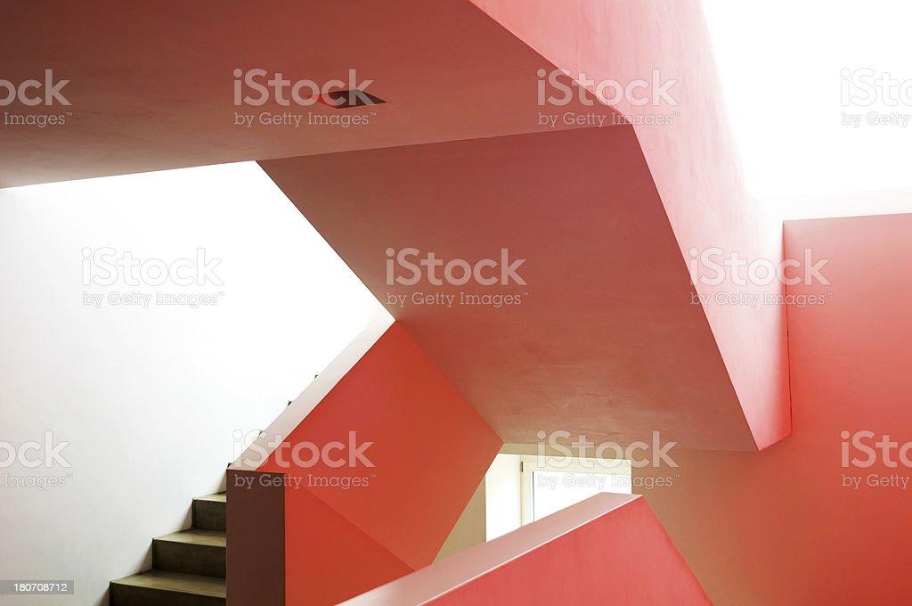 Modern Staircase royalty-free stock photo