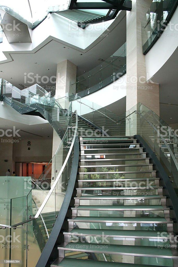 モダンな階段 ロイヤリティフリーストックフォト