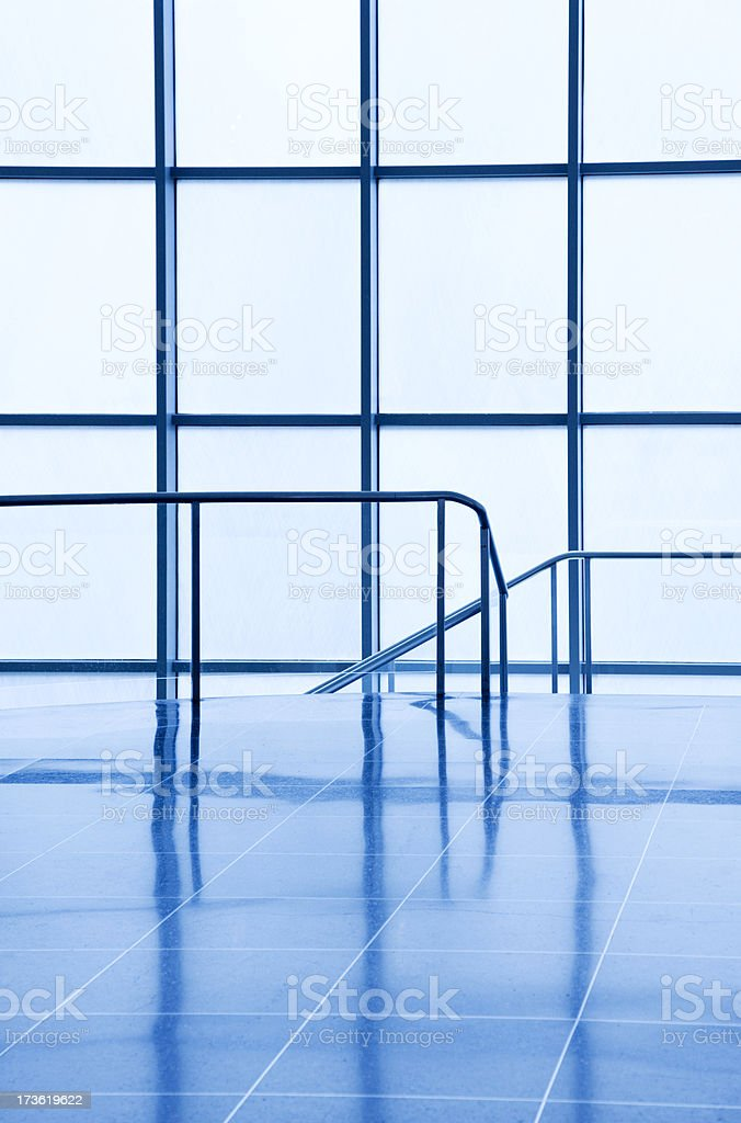 Modern Stairway royalty-free stock photo