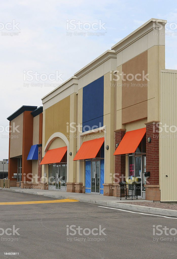 Modern Store Buildings