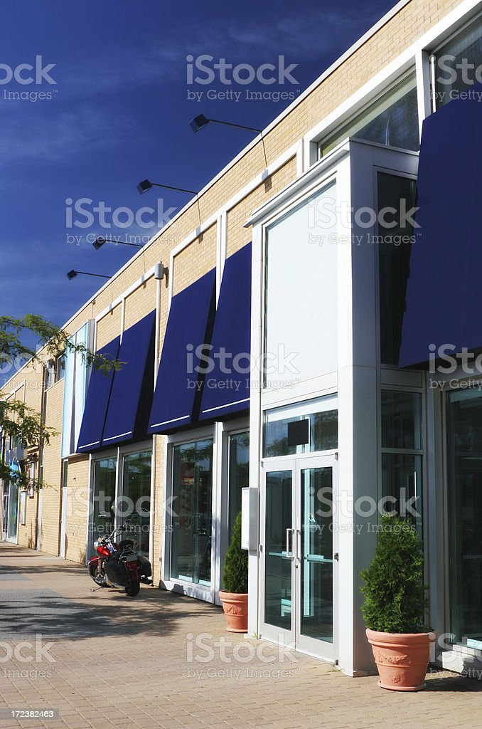 Modern Store Entrance royalty-free stock photo