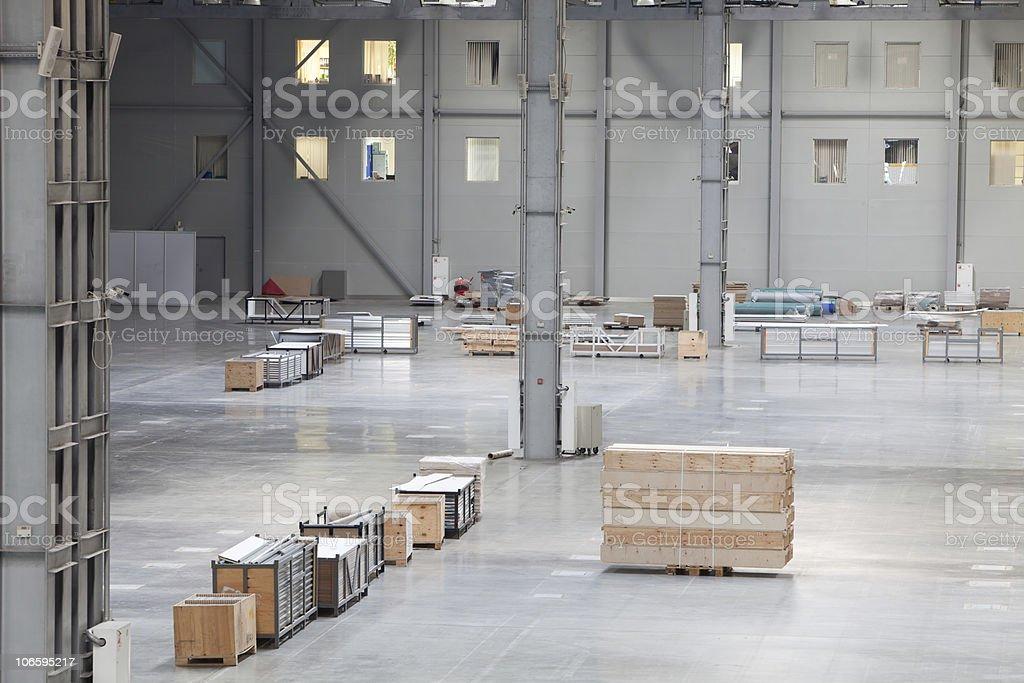 Modern storehouse royalty-free stock photo