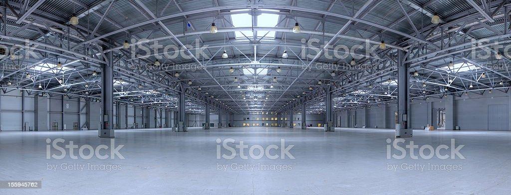 Modern storehouse stock photo
