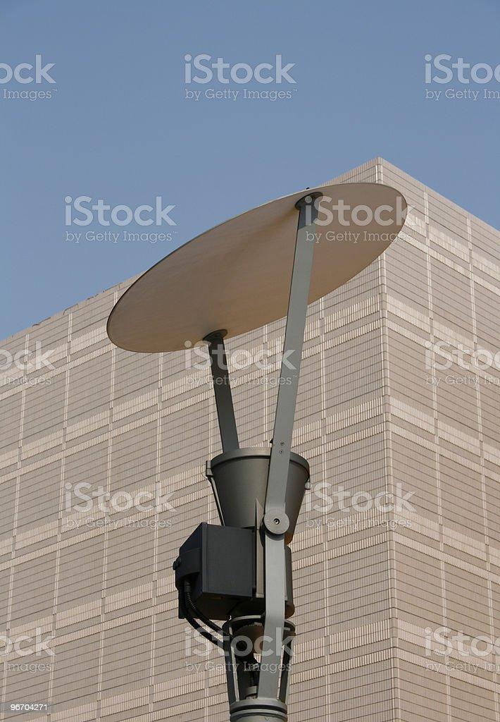 Modern Street Lamp royalty-free stock photo