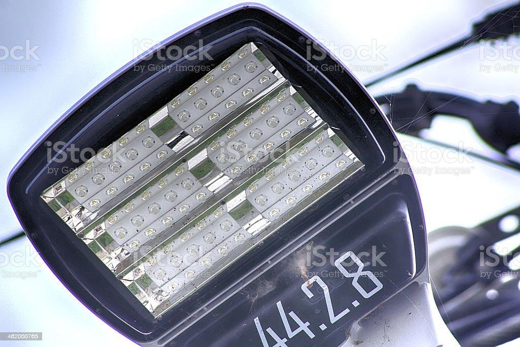 modern Street lamp using high intensity led stock photo