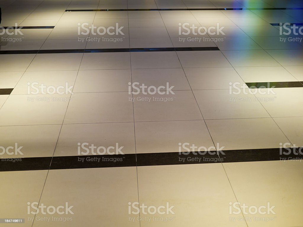 modern style floor tiles royalty-free stock photo