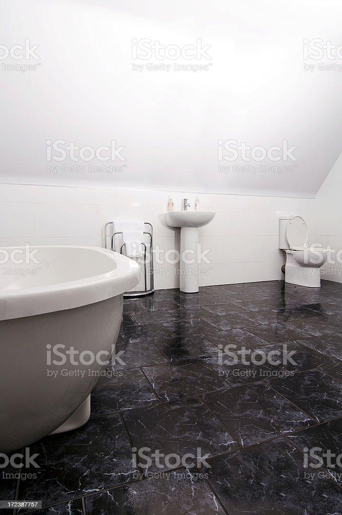 modern stylish bathroom royalty-free stock photo