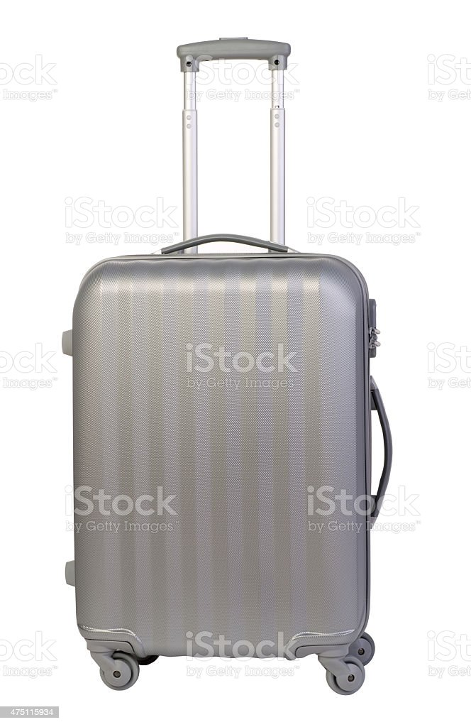 Modern suitcase stock photo