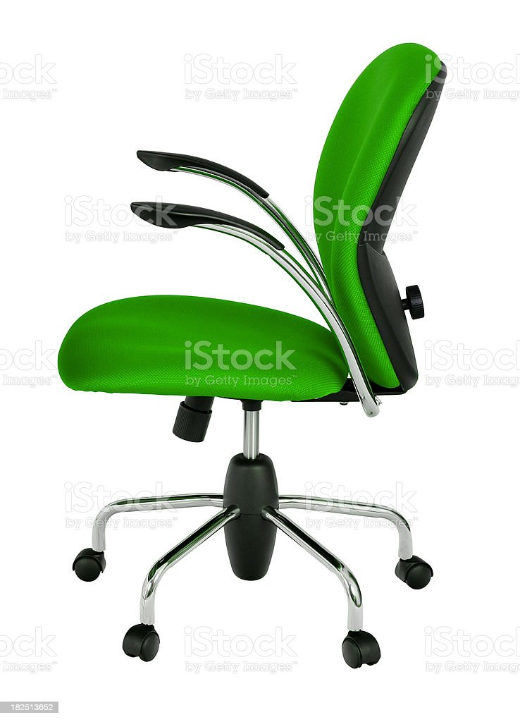 Modern swivel chair royalty-free stock photo