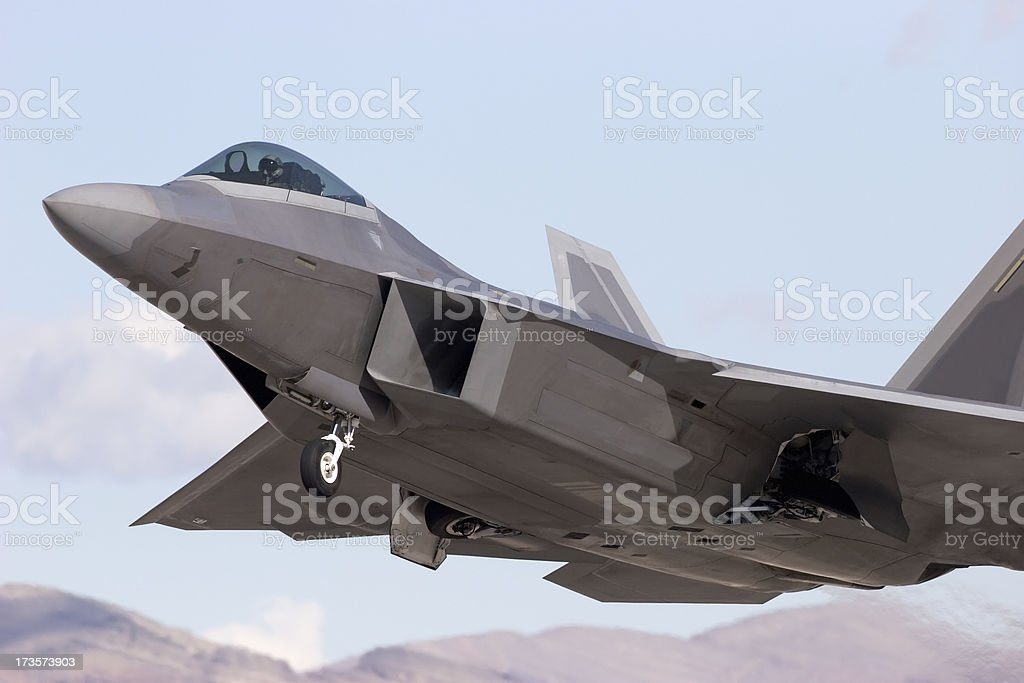 Modern Tactical Jet stock photo