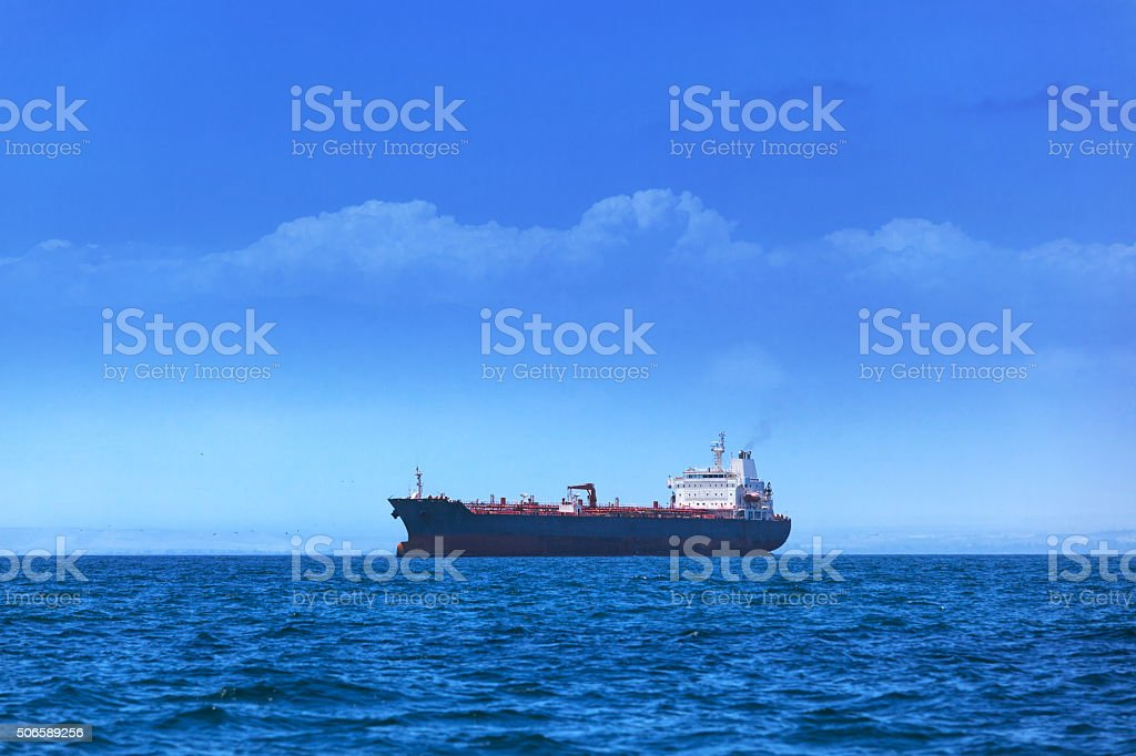 modern tanker stock photo