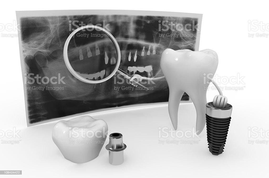 Modern technologies in dentistry stock photo