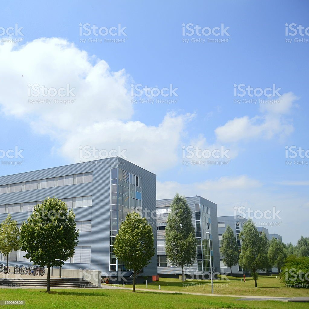 Modern Technology Buildings royalty-free stock photo
