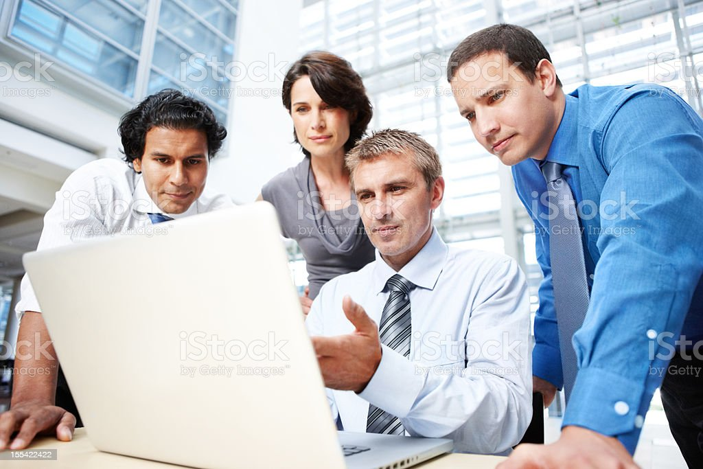 Modern technology that works for your company royalty-free stock photo