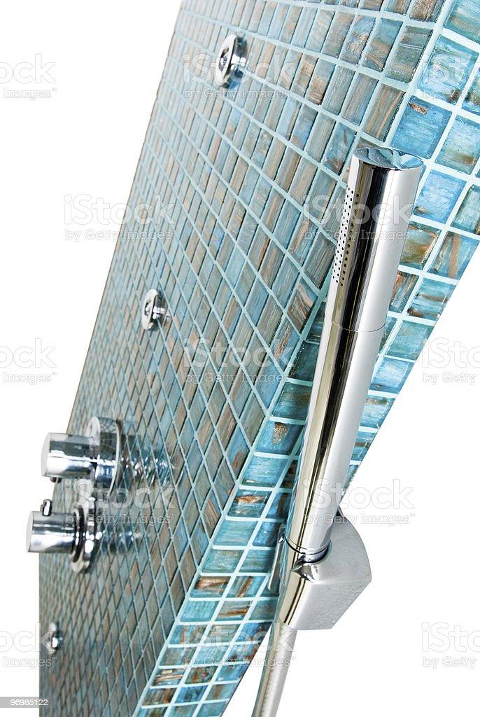 Modern Tile Shower royalty-free stock photo