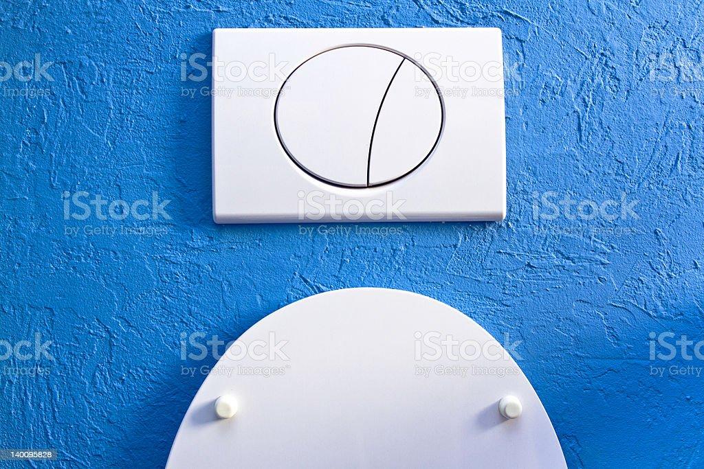 Modern Toilet royalty-free stock photo