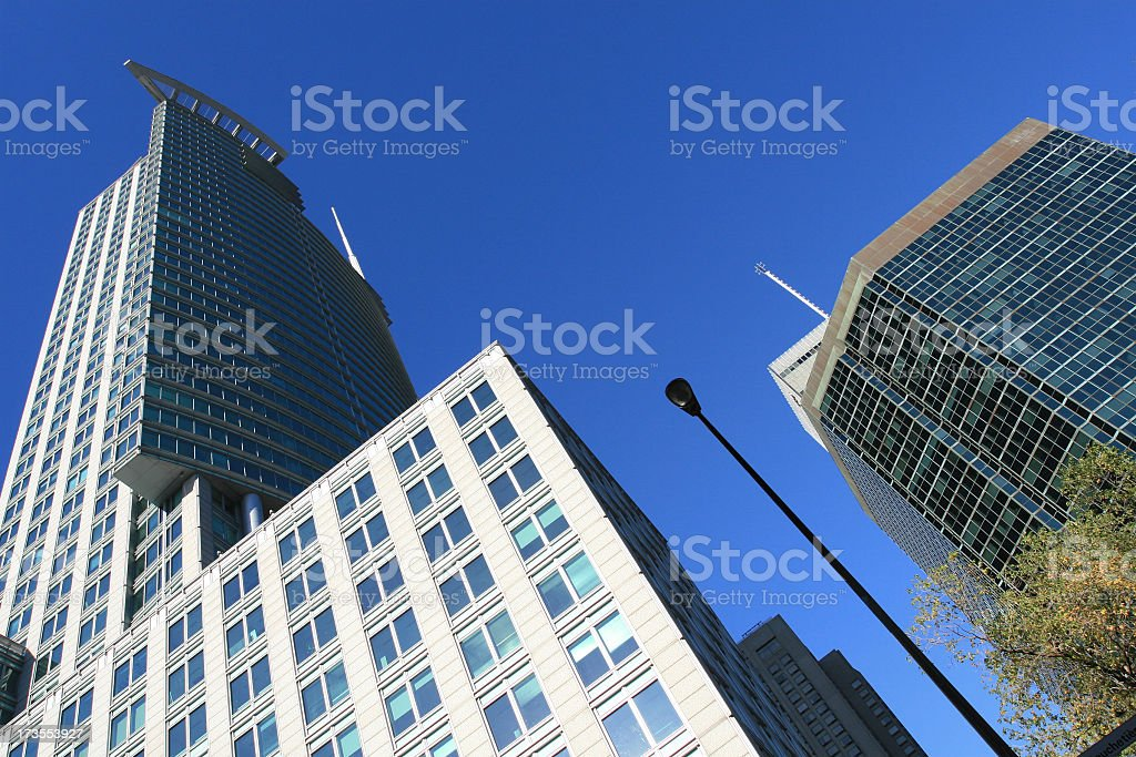 Modern Tower Building royalty-free stock photo
