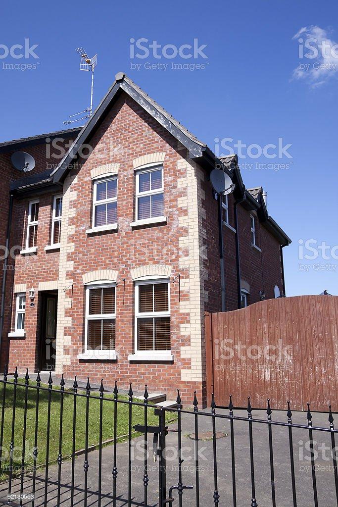 Modern Townhouse stock photo