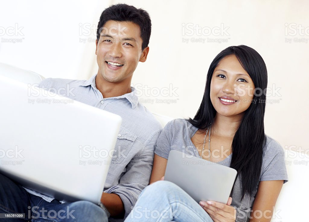 Modern toys for a trendy couple stock photo