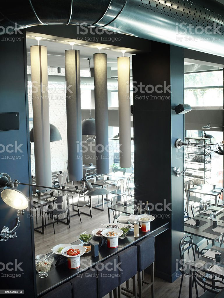 Modern trendy bar royalty-free stock photo