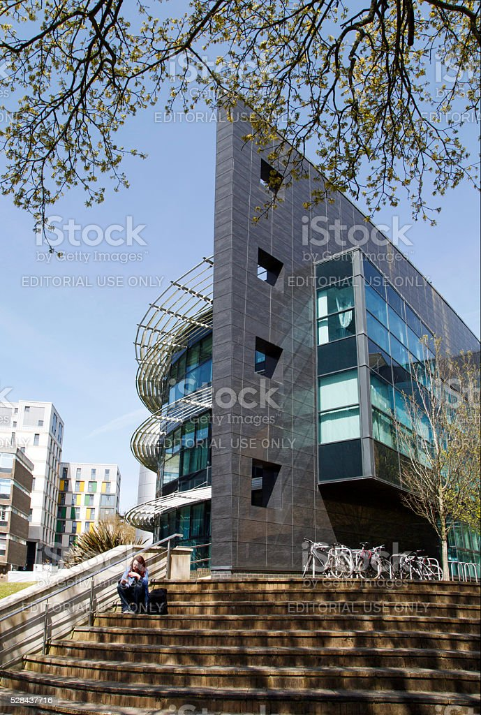 Modern University Building stock photo