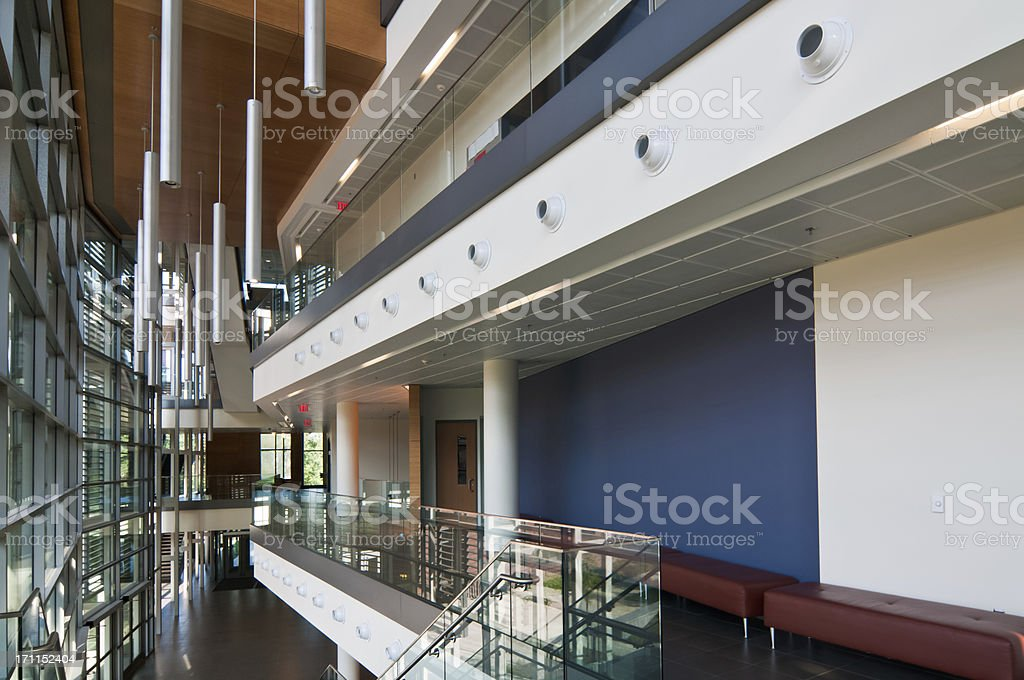 Modern University Design stock photo