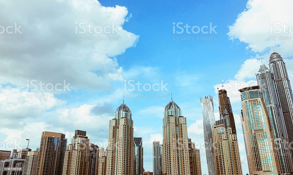 Modern Urban Landscape stock photo