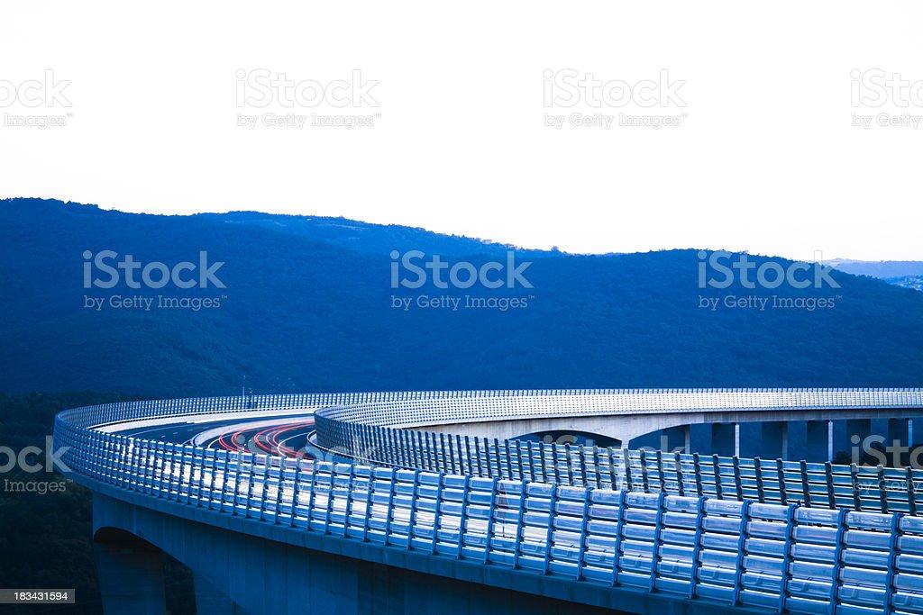 modern viaduct royalty-free stock photo