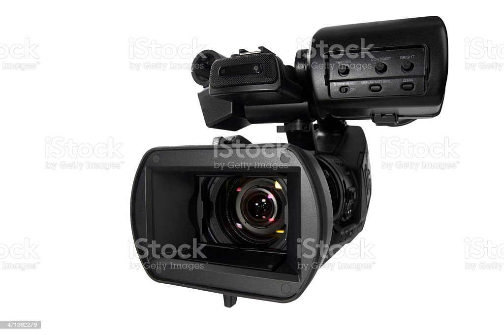 Modern Video Camera royalty-free stock photo