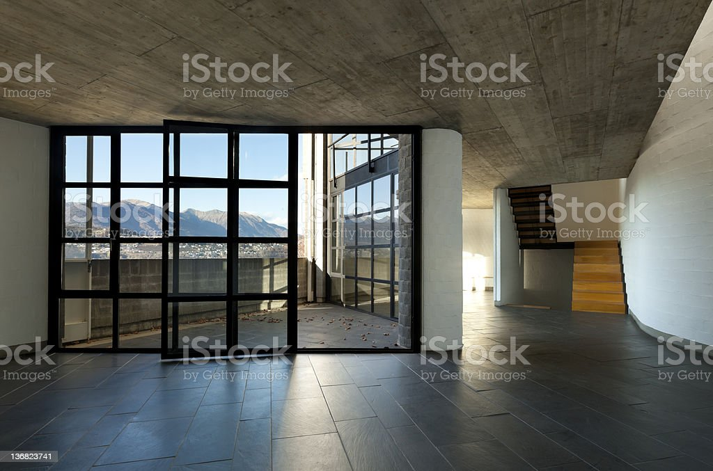 modern villa royalty-free stock photo