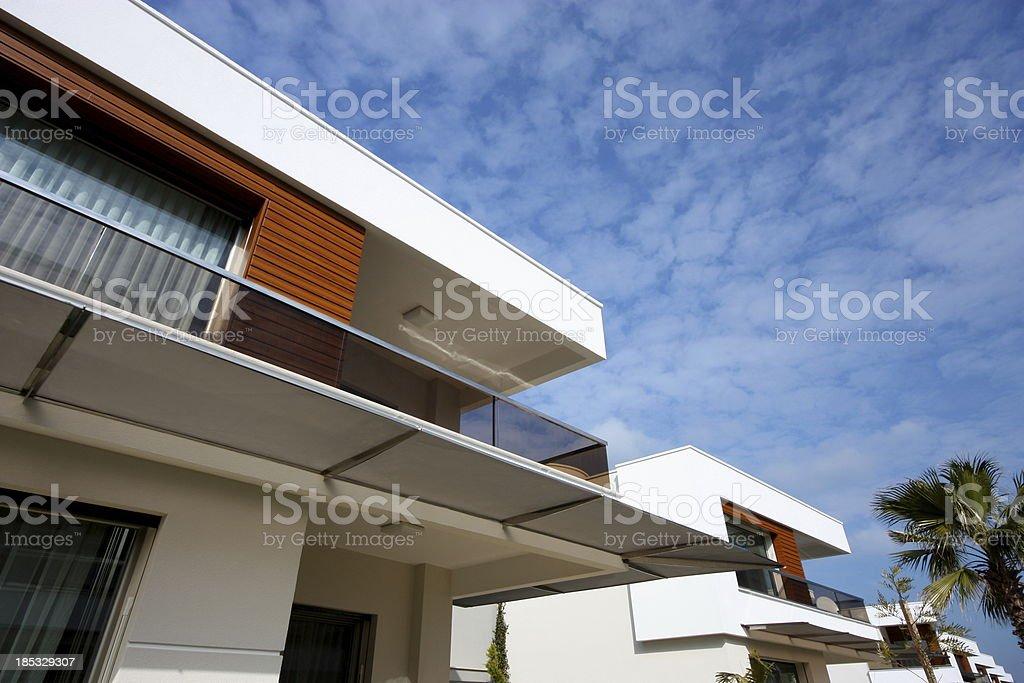 Modern Villa royalty-free stock photo