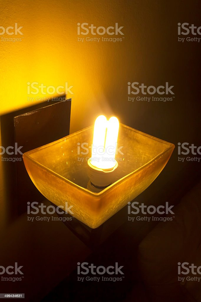 Modern wall lamp royalty-free stock photo
