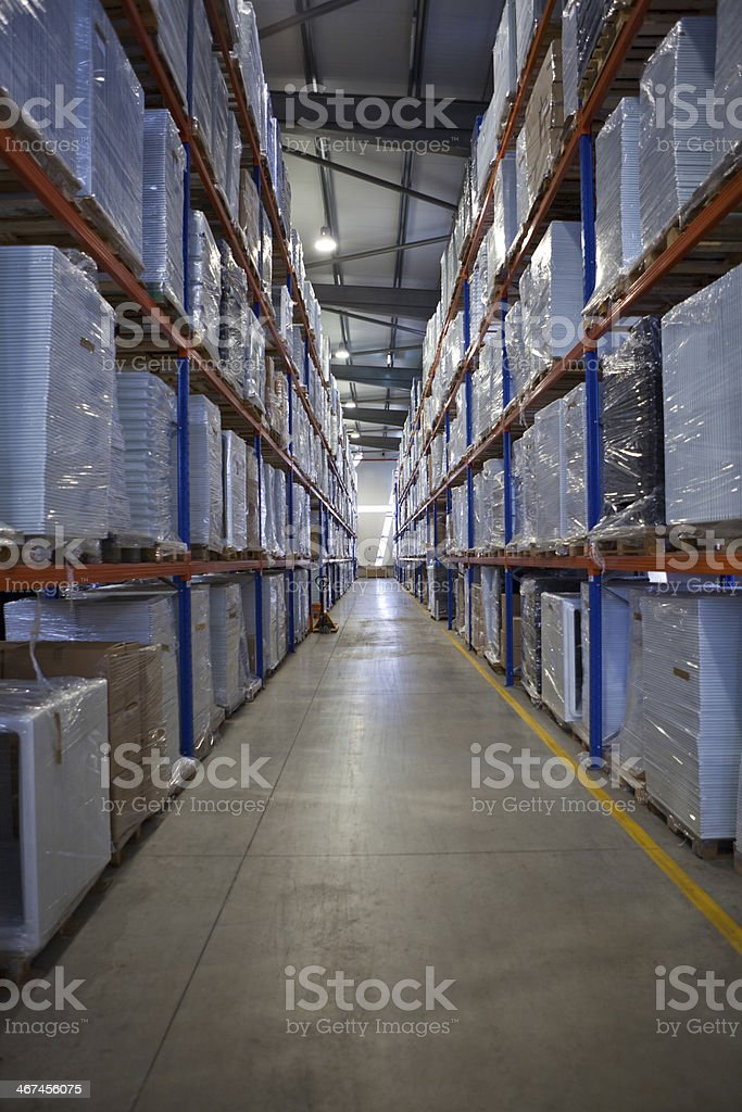 Modern Warehouse royalty-free stock photo