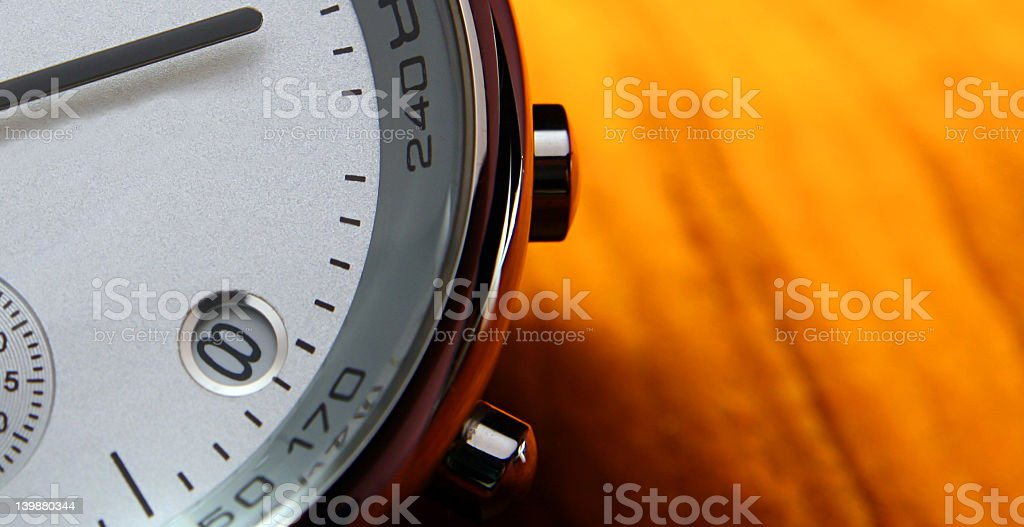 Modern Watch - macro royalty-free stock photo