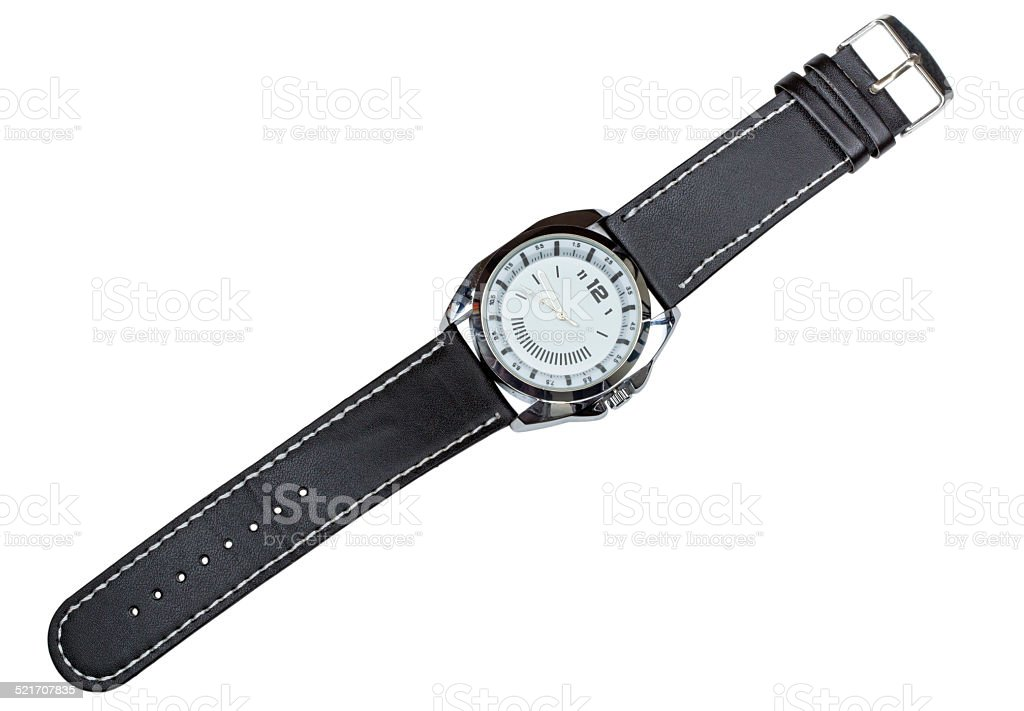 Modern watch stock photo