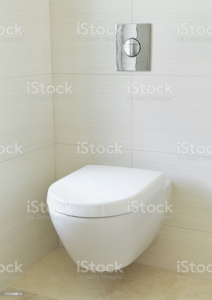 modern WC royalty-free stock photo