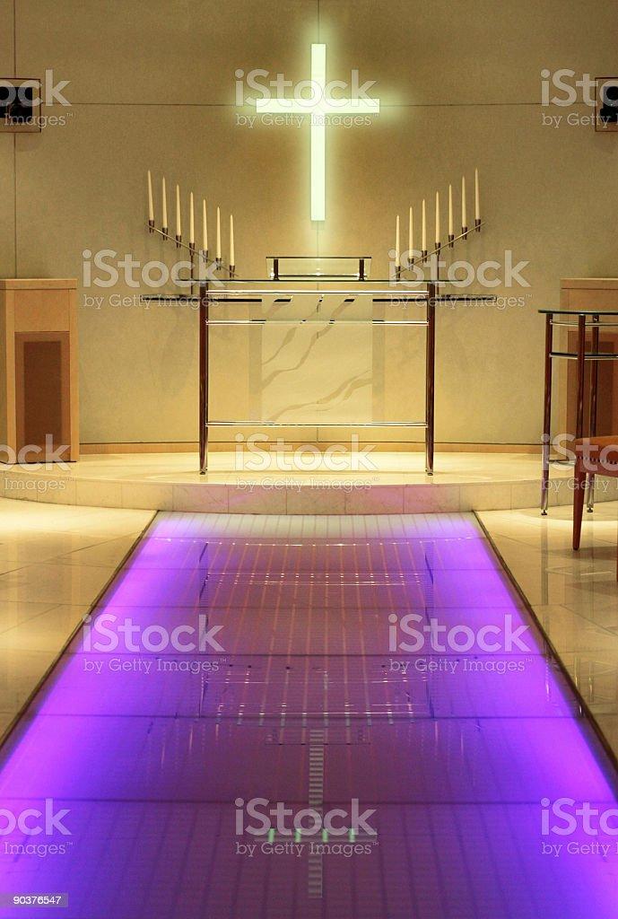 Modern wedding chapel royalty-free stock photo