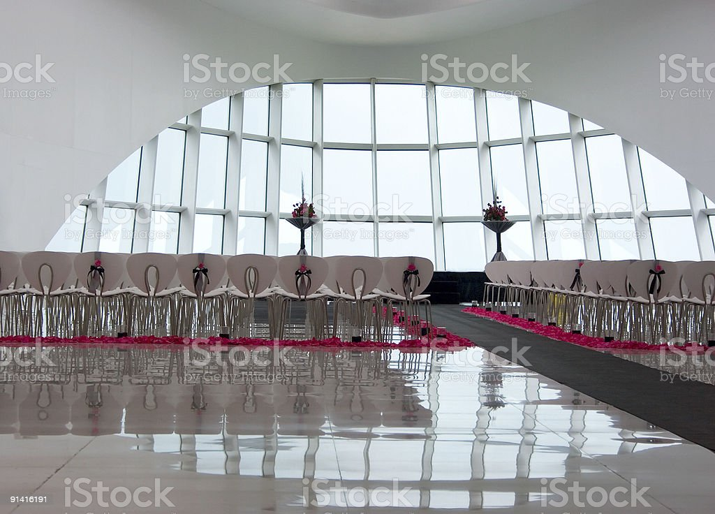 Modern Wedding royalty-free stock photo