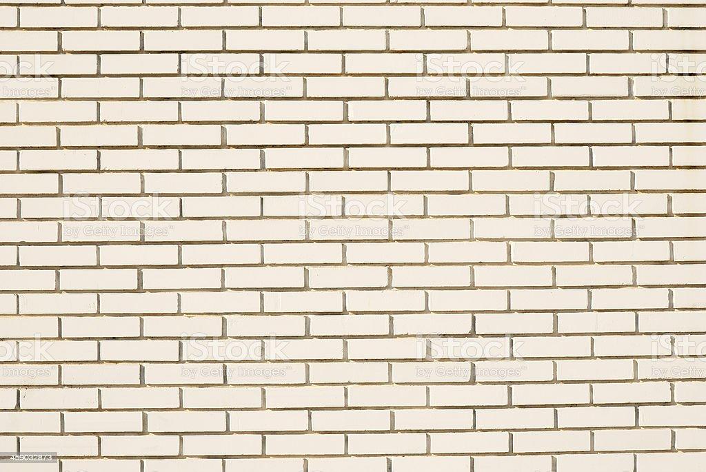 Modern white brick wall royalty-free stock photo